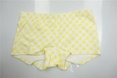 Pretty Girl's Combed Cotton Elastane with Allover Print Boxers