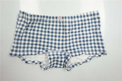 Girl's Combed Cotton Elastane with Allover Print Boxers