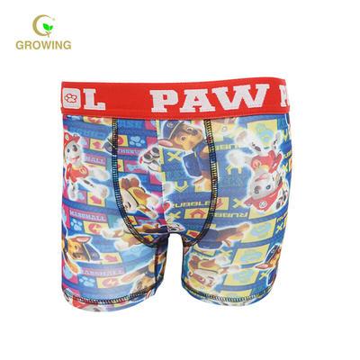Wholesale Boy's Polyester Elastine Boxers